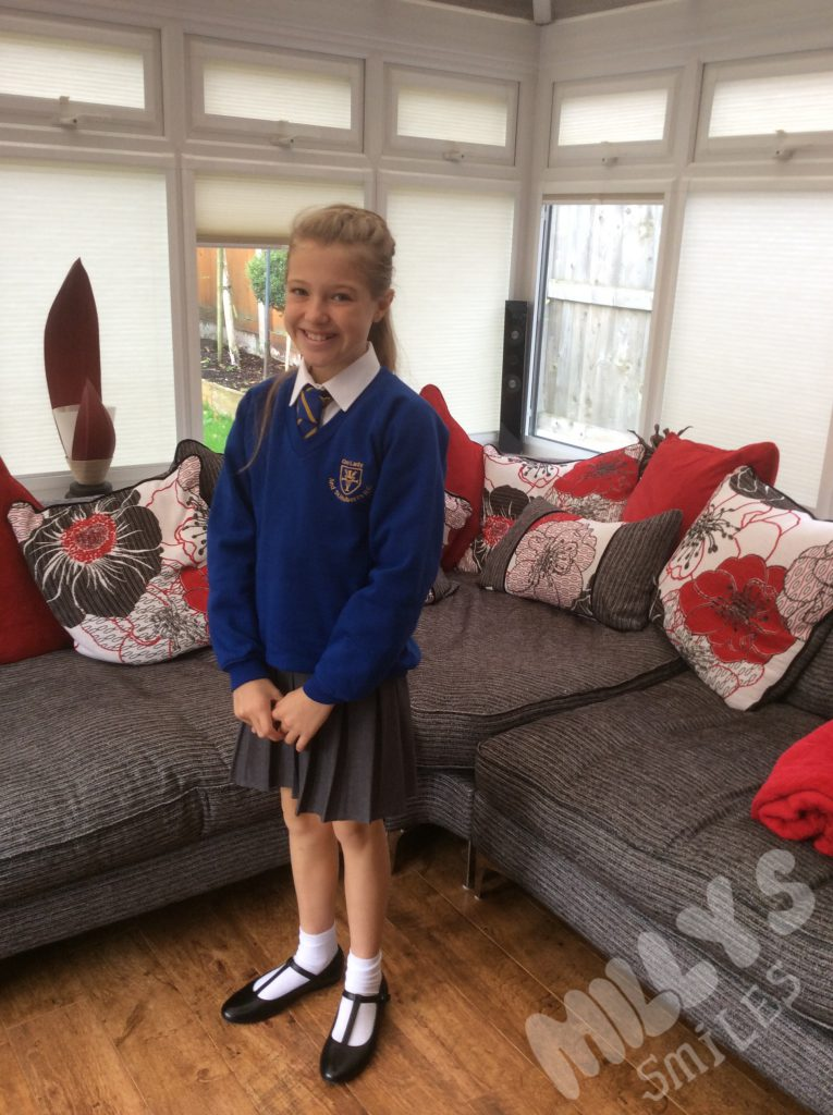 Milly In School Uniform | Millys Smiles